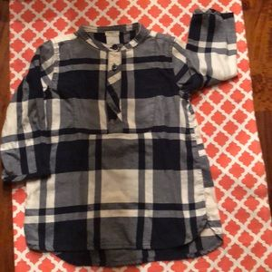 J Crew Cute Girls Toddler Size 3 Top Blue